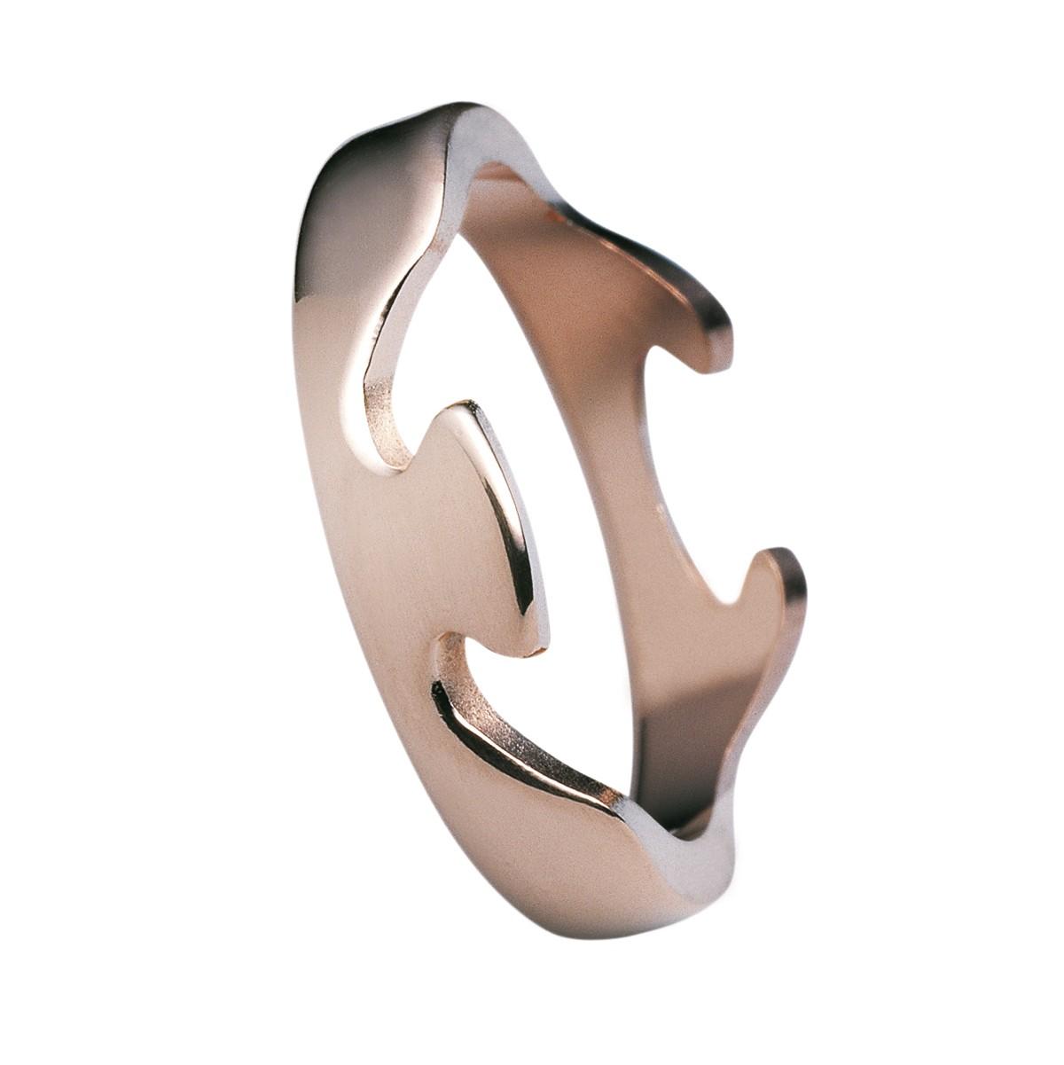 Fusion Ring 18K Rosaguld