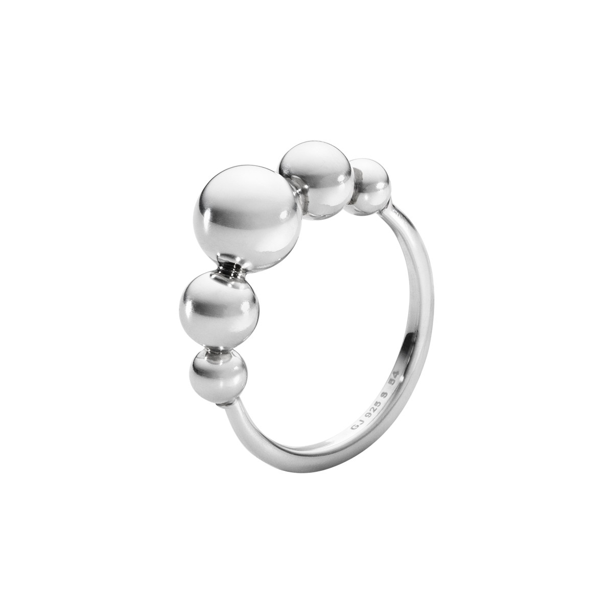 Moonlight Grapes Ring Sølv