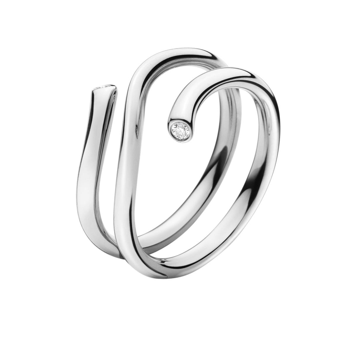 Magic Ring 18K Hvidguld