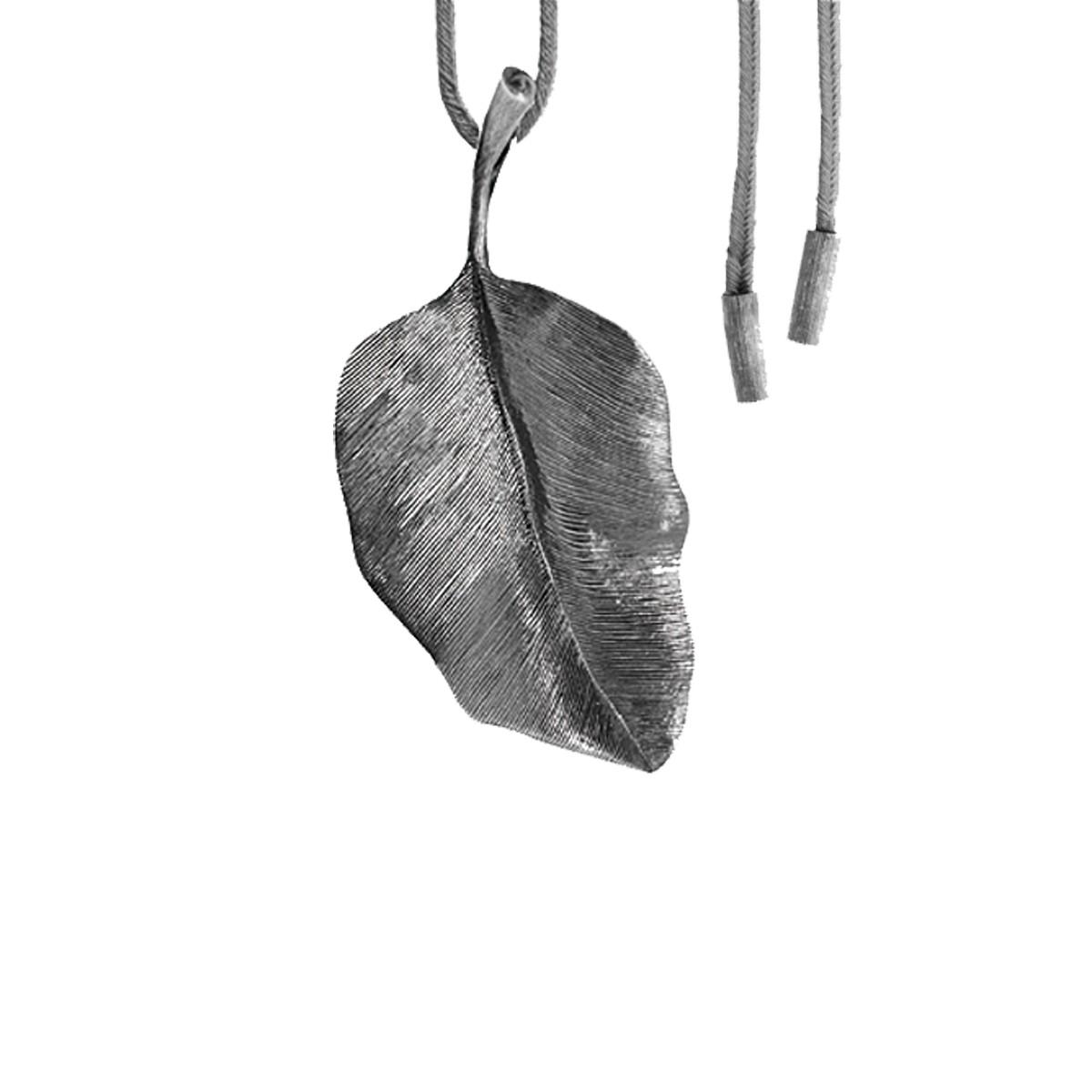 Forest Leaves Vedhæng Sølv