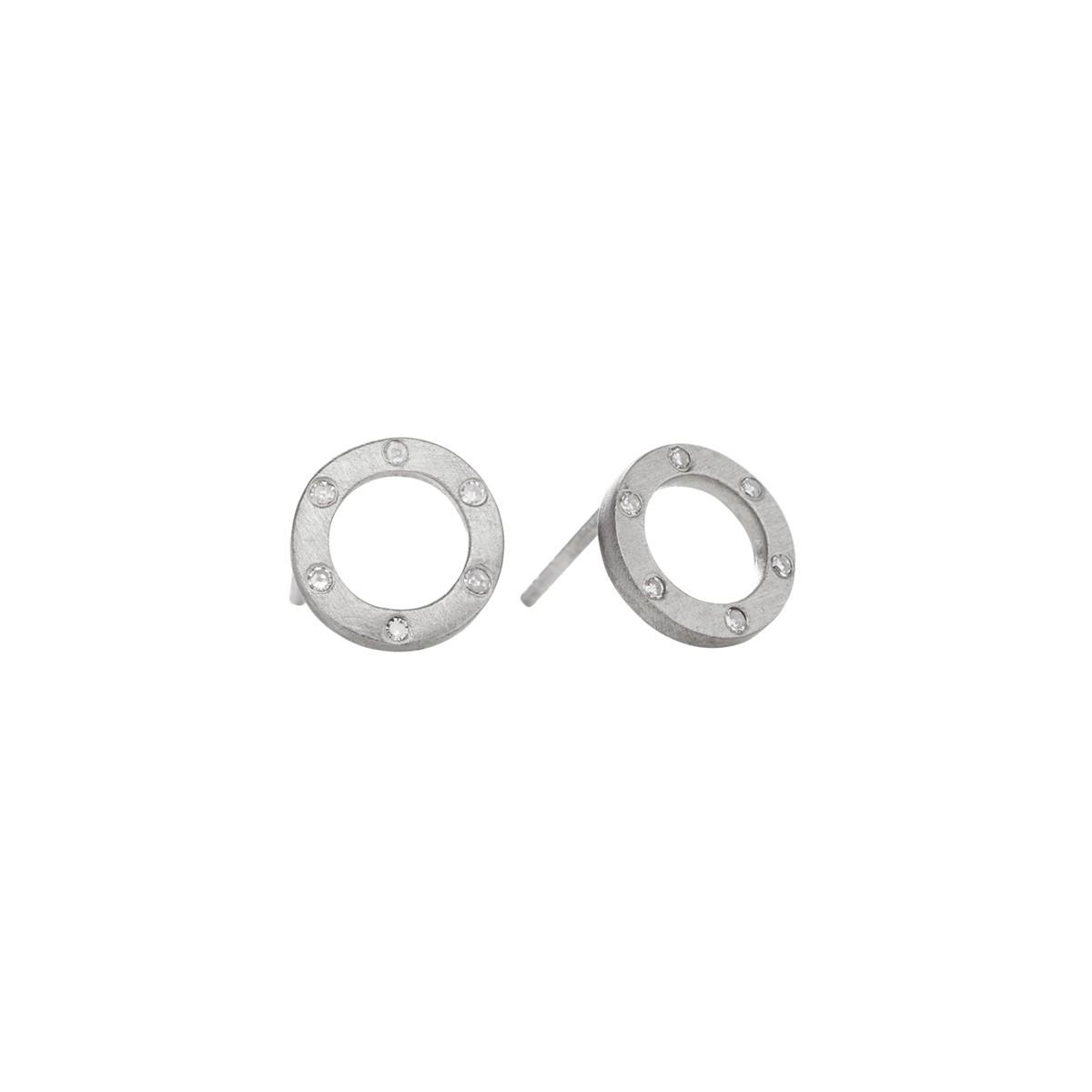 Cosmos Ørestikker Sølv 8 mm