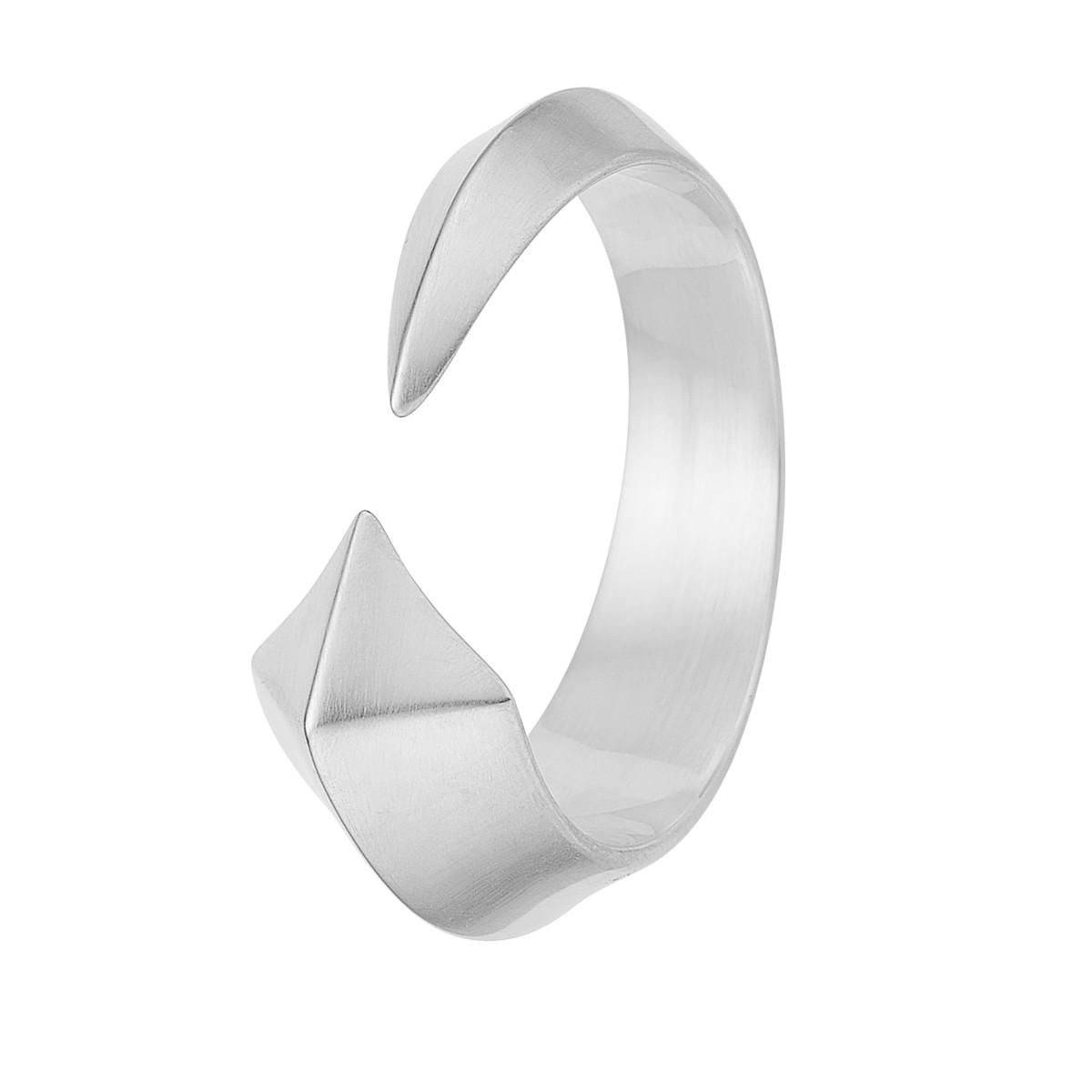 Pyramid Ring Sølv