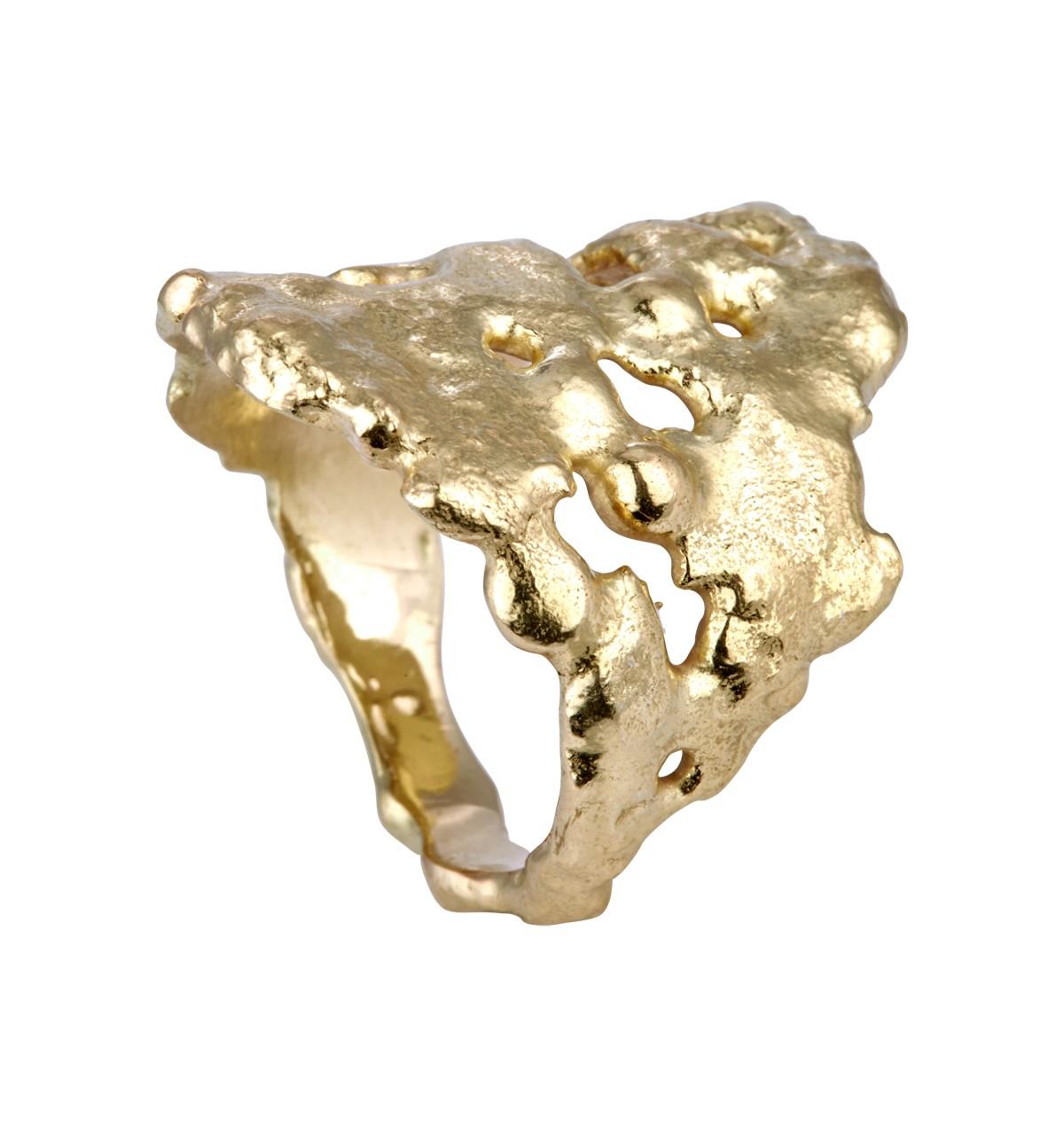 Magma Ring 14K Guld