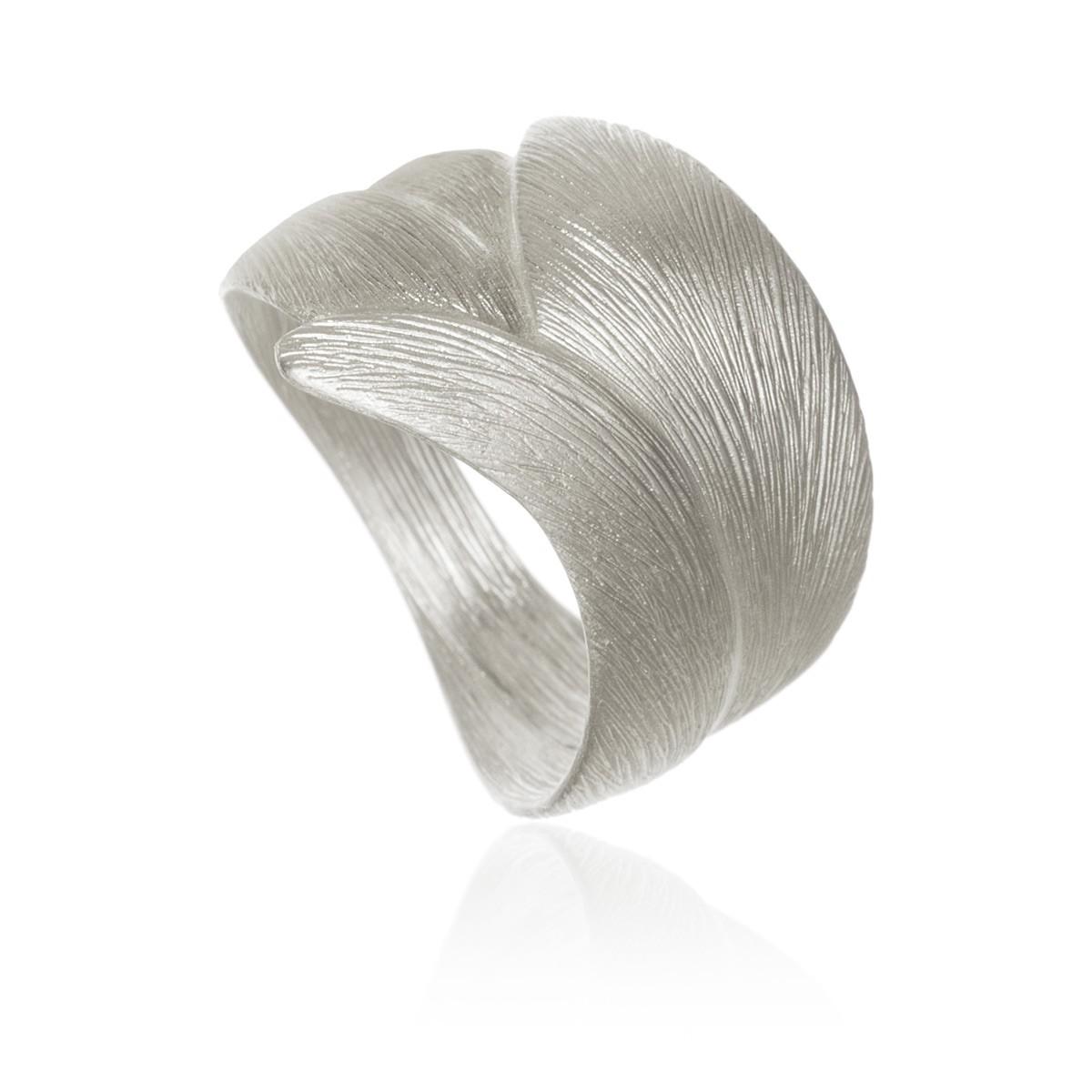 Aura Ring Stor Sølv