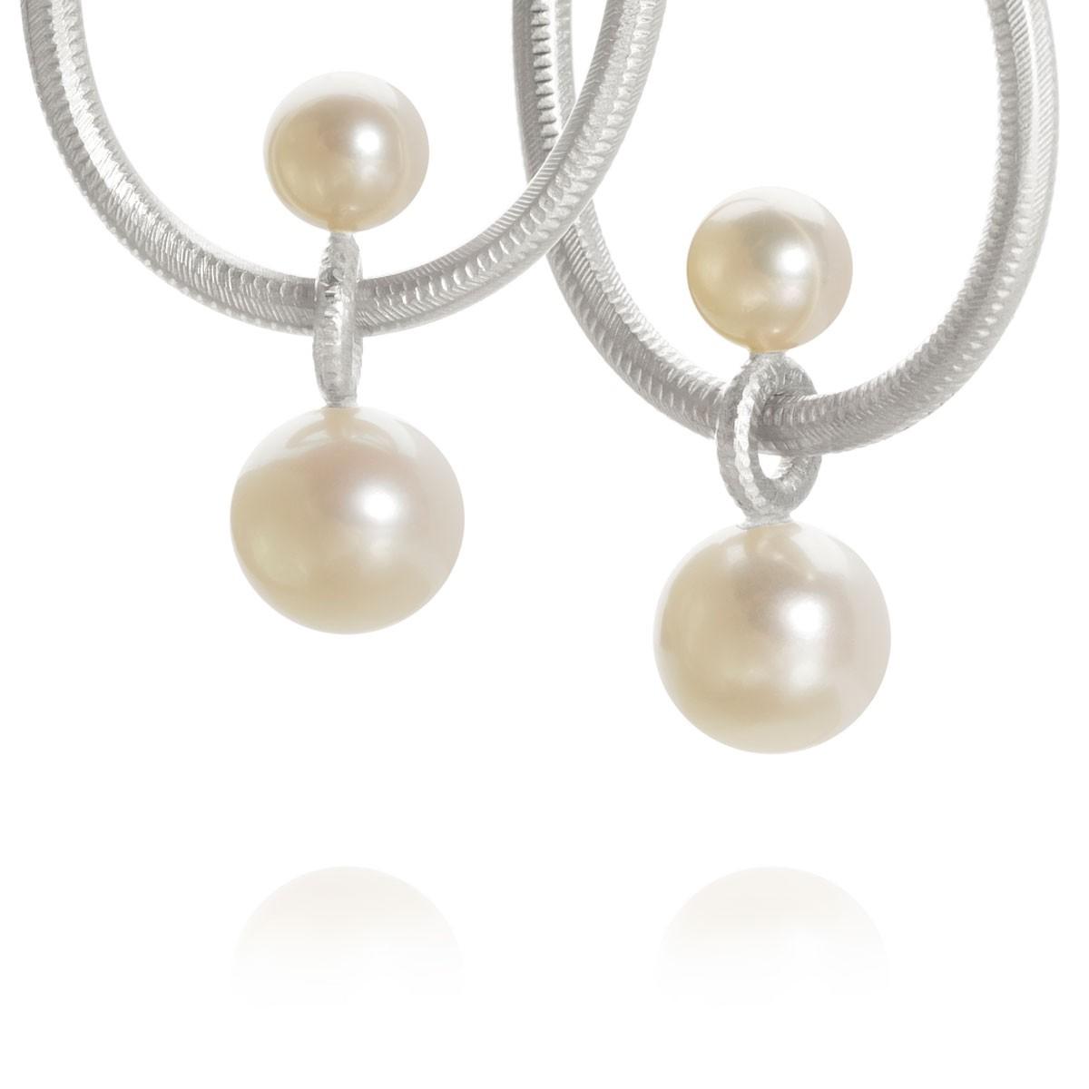 Balance Vedhæng Sølv Perler