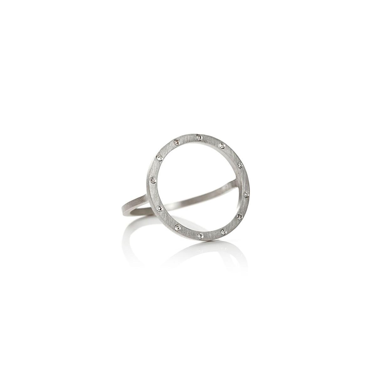 Cosmos Plus Ring Sølv