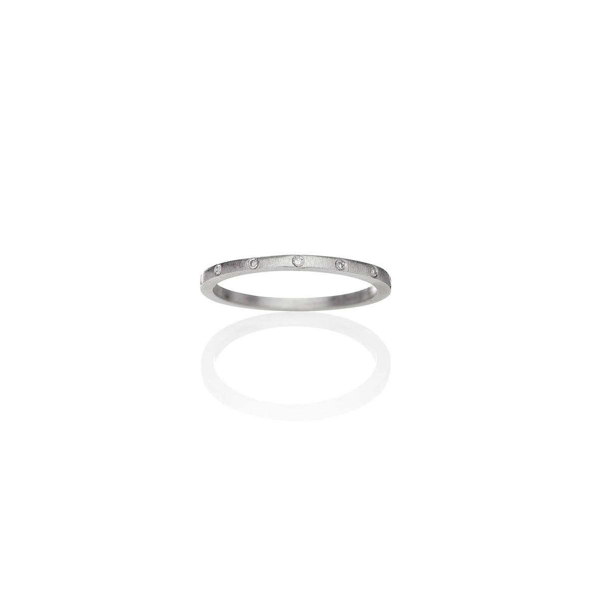 Cosmos Ring Sølv 1,4mm
