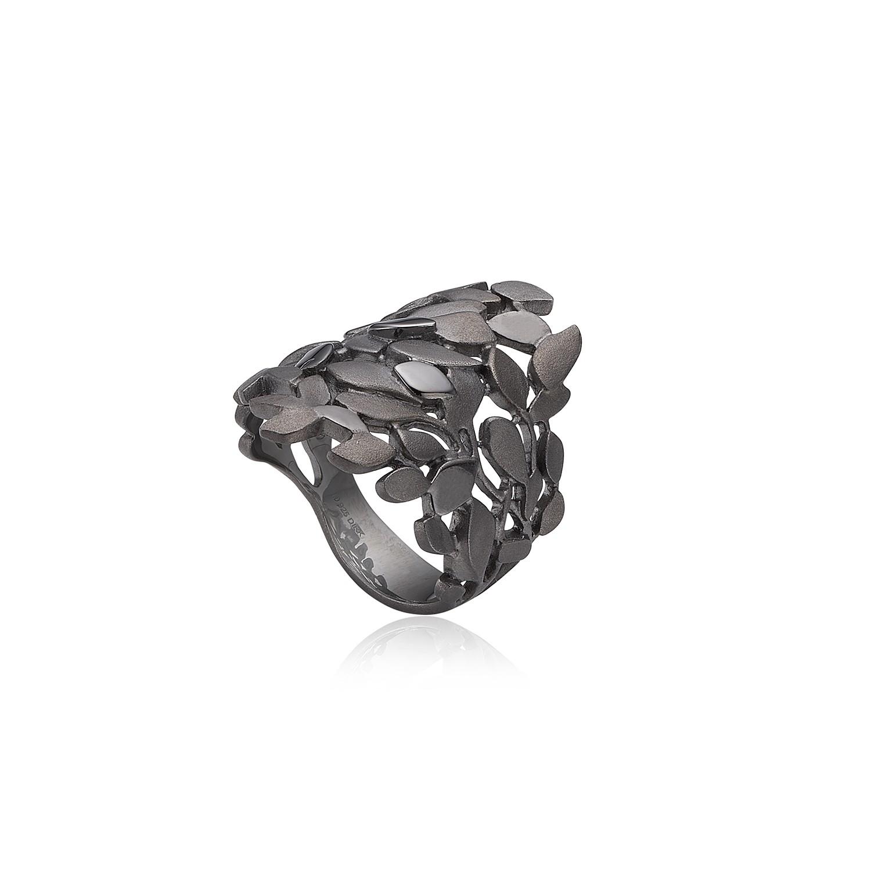 Leaves Lite Ring Sølv