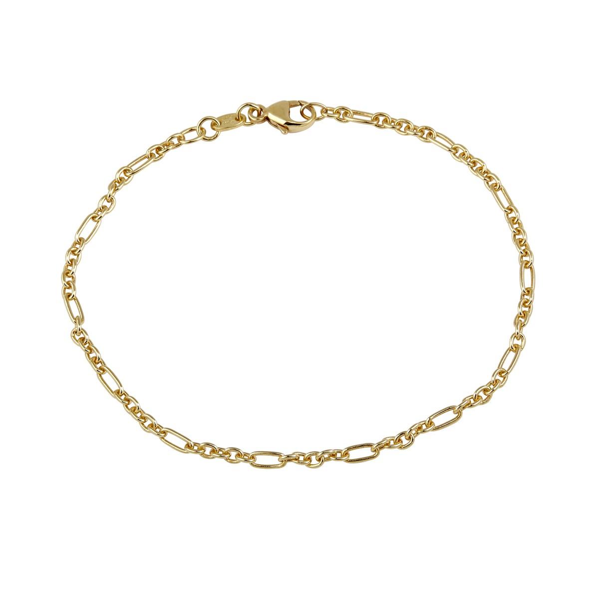 Figaro Armlænke 14K Guld