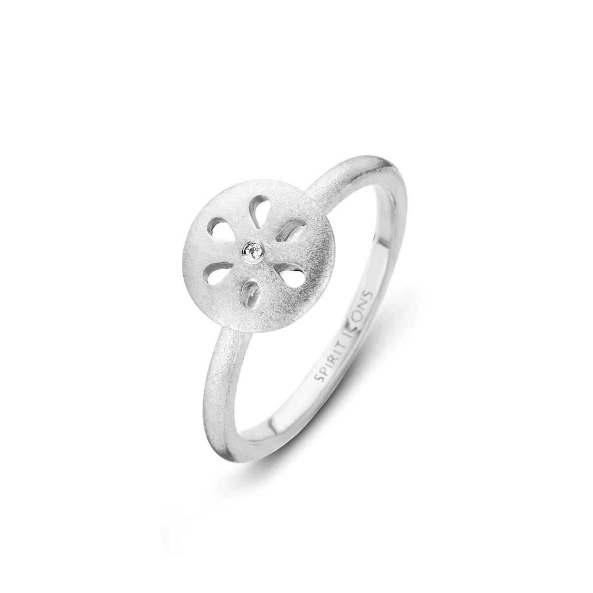 Flora Chic Ring Sølv