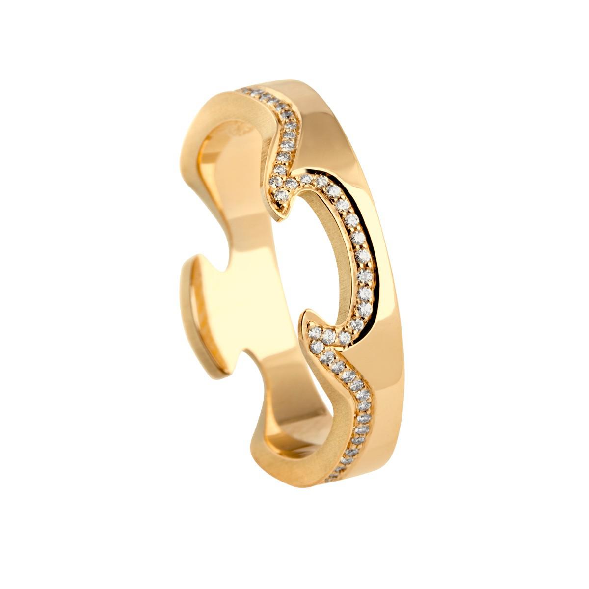 Fusion Ring 18K Guld