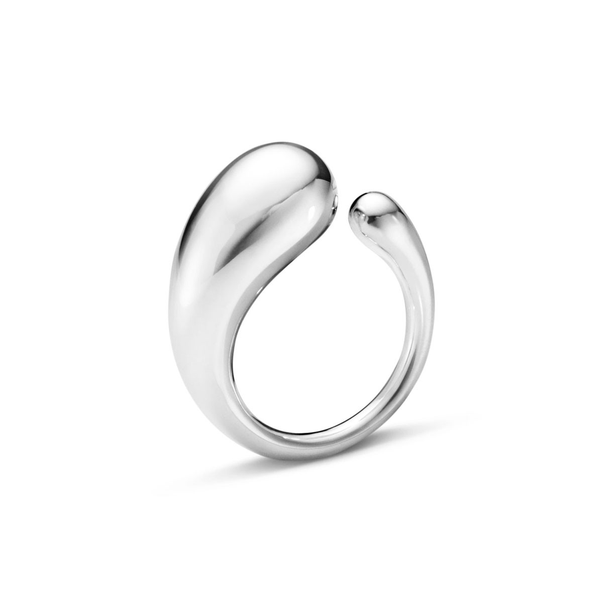 Mercy Stor Ring Sølv