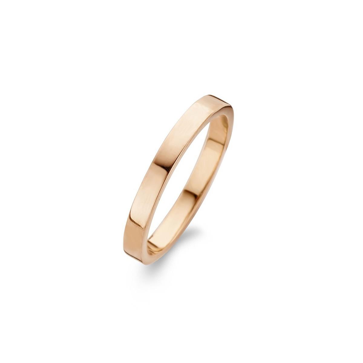 Raw Ring Rosaforgyldt Sølv