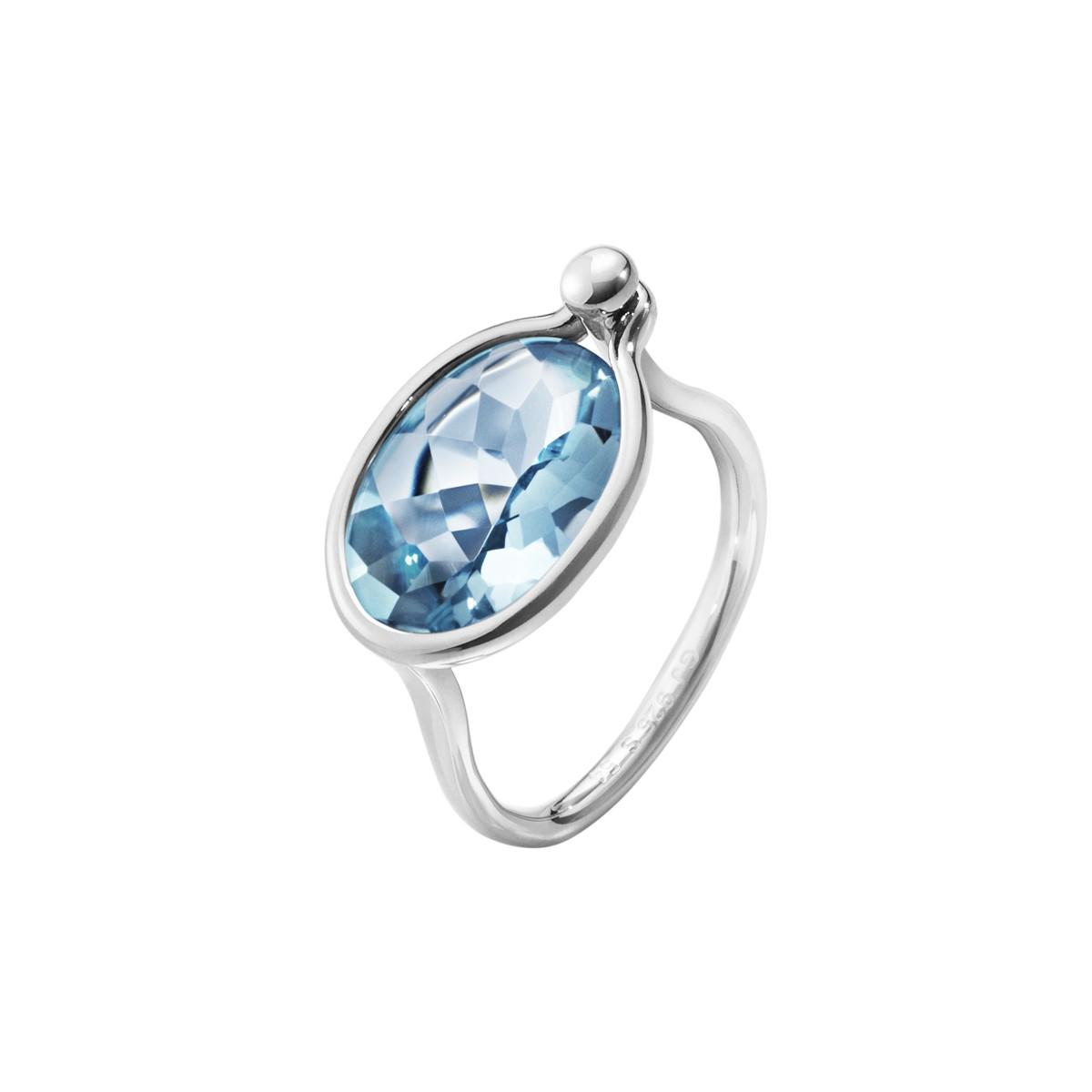 Savannah Ring Sølv Topas