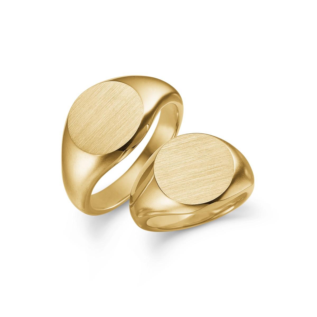 Signum Vielsesringe 14K Guld