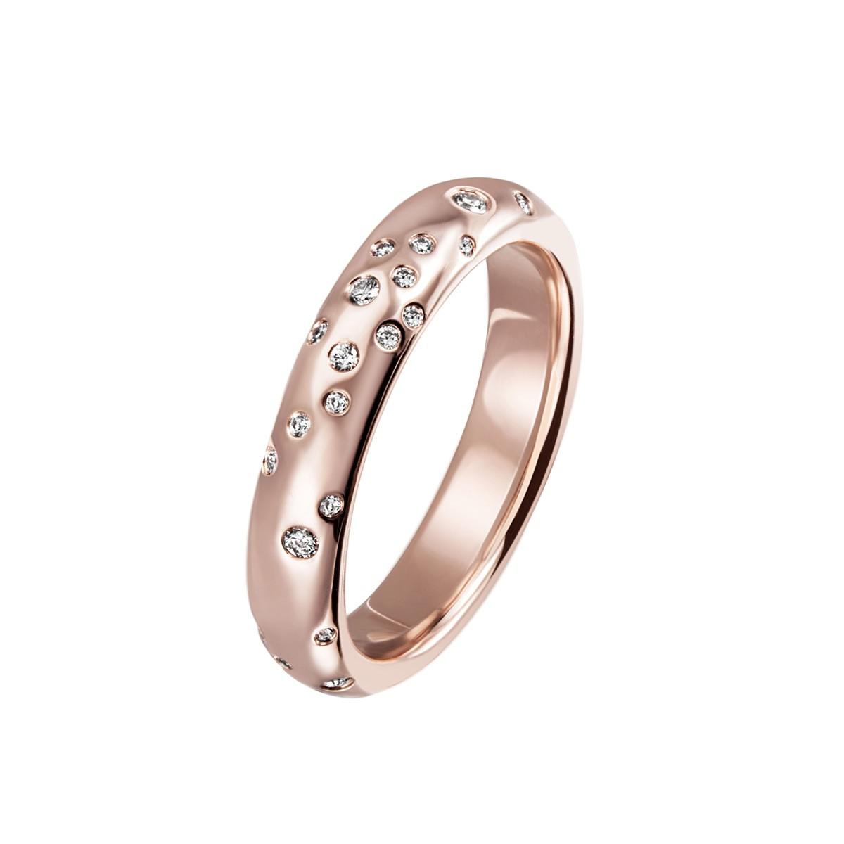 Stardust Large Ring 14K Rosaguld