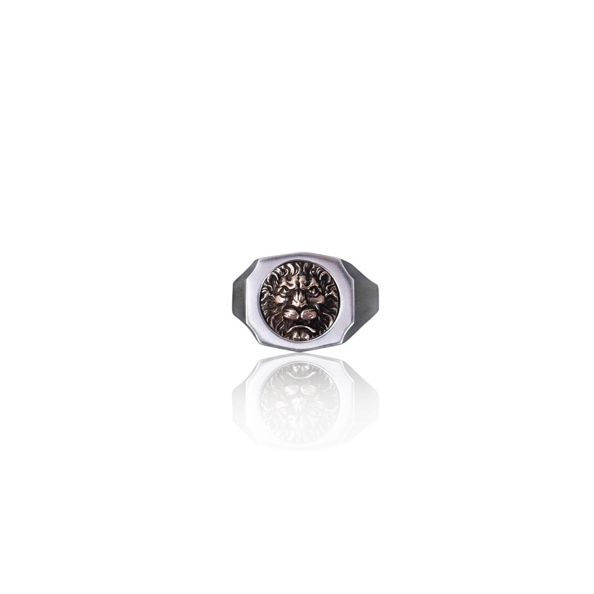 Trophy Ring Lion 14K Guld