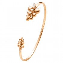 Moonlight Grapes Armring 18K Rosaguld