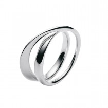 Möbius Ring Sølv