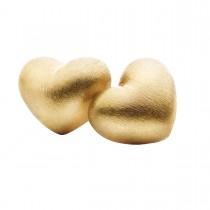 Hjerte Ørestikker 18K Guld
