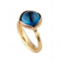 Lotus Ring 18K Guld