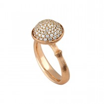 Lotus Ring 18K Rosaguld
