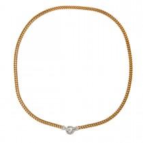 Bracciale Halskæde 14K Guld