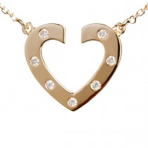 Lucky Heart Vedhæng 14K Guld