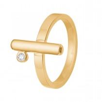Barres Ring 14k Guld