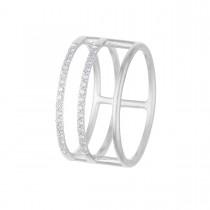 3in1 Ring Sølv Brillanter