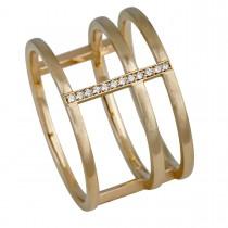 Triple Ring 14K Guld
