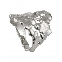 Magma Ring Sølv