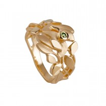 Leaves Forest Ring 14K Guld
