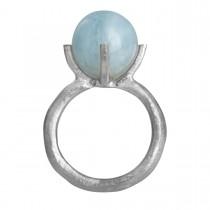 Barok Ring Sølv