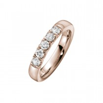 Alliance Ring 14K Rosaguld 0.50ct