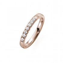 Alliance Ring 14K Rosaguld 0.21ct