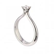 Grace & Gassan Ring 14K Hvidguld