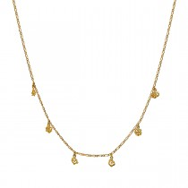Adina Necklace Gold Plated Silver