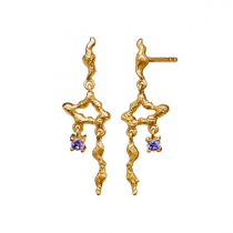 Alari Earrings Gold Plated Silver