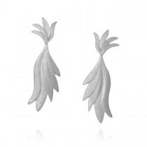 Aura Øreringe Sølv
