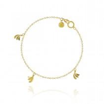 Aura Piccolo Armbånd 18K Guld