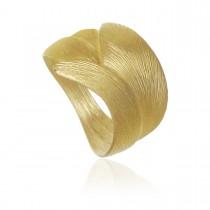 Aura Ring Stor 18K Guld