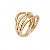 Bridges Ring 14K Guld