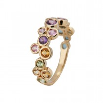 Colours Ring 14K Guld