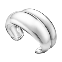 Curve Armring Sølv