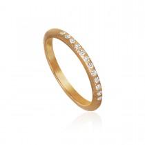 Curve Ring 18K Rosaguld