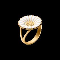 Daisy Ring Stor Sølv