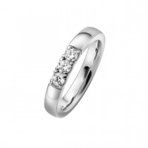 Alliance Ring 14K Hvidguld 0.30ct