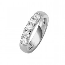 Alliance Ring 14K Hvidguld 1.00ct