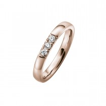 Alliance Ring 14K Rosaguld 0.18ct